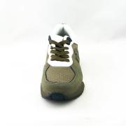 Guardiani  ανδρικό sneakers  δερμάτινο σε  λαδί χρώμα  με κορδόνι